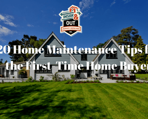 20 Home Maintenance Tips for the First-Time Home Buyer